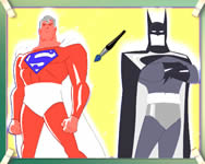 Batman vs Superman coloring j�t�k