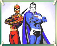 Spidey and superman Superman j�t�kok