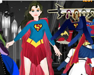 Super girl dressup Superman j�t�kok